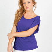 AMBER Raw Cotton Women T-Shirts Top