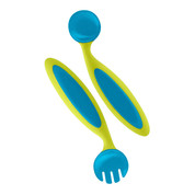 Boon kids adjustable fork & spoon | kiwi