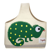 3 Sprouts | decor storage bag | green iguana