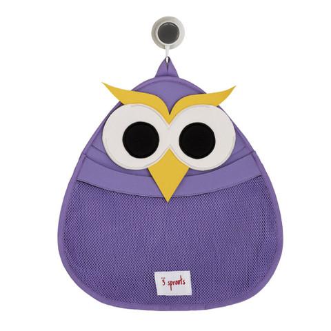 animal neoprene bath storage | purple owl