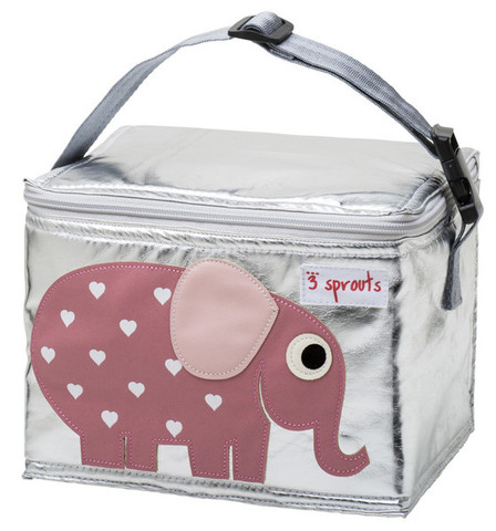 Buy 3 Sprouts kids school lunch bag | pink elephant