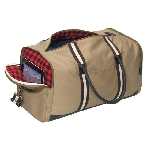 buy online plain canvas duffle bag