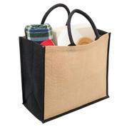 buy wholesale online blank eco jute bags
