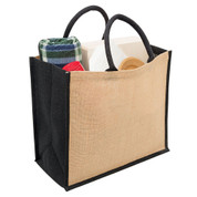 buy wholesale online blank eco jute bags shopping grocery bag