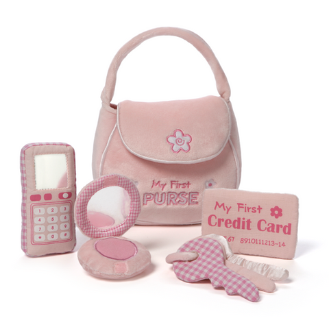 MY FIRST | Pink Purse 5 piece Playset | Baby Gund Gift Present Online