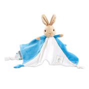 PETER RABBIT | plush comfort blanket blue