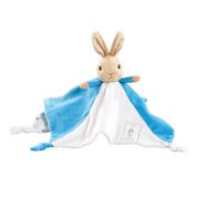 PETER RABBIT | plush comfort blanket blue