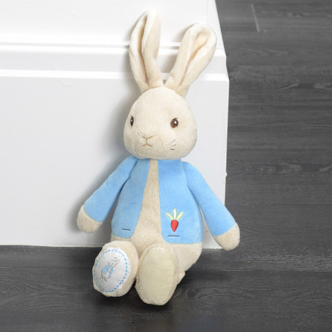 PETER RABBIT | plush my first peter toy blue | buy online baby toy ideas