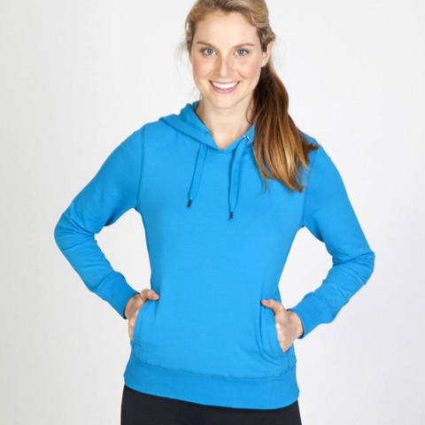 wholesale bulk plain spandex ladies hoodie