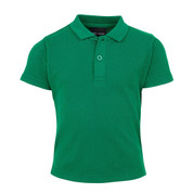 bulk buy plain baby polo top | kelly green