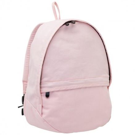 wholesale small plain chino backpacks | light pink