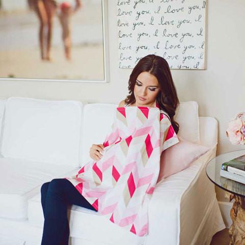 patterned breastfeeding lola cover