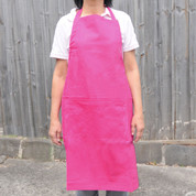 Pink Adjustable Cotton Apron Online Bulk Wholesale Hospitality Chef Cooking
