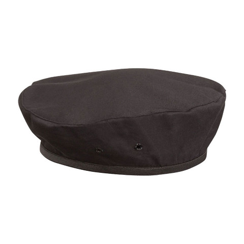 buy plain black chef beret online