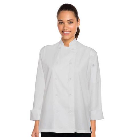 Ladies Sofia Lite Chef Jackets | Chef Work Clothing