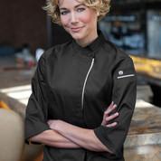 Buy Online Ladies Premium Chef Coat 3/4 Sleeves
