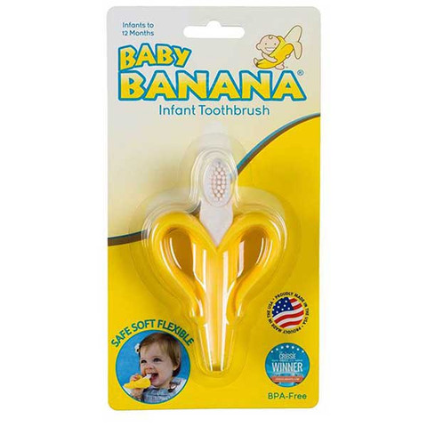 baby banana infant training teething toothbrush online