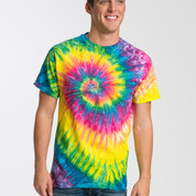 100% cotton tie dye tshirt | Saturn