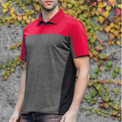 REEF | Quick Dry Two Tone Mens Sport Polo Stormtech