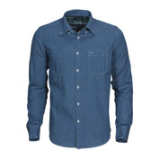 JUPITER Mens Plain Modern Fit Denim Shirt Online