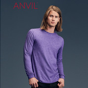 Anvil Lightweight Long Sleeve Tshirt | TearAway Label