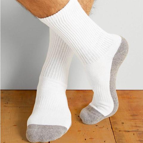 Gildan Platinum Crew Socks - 6 Pack