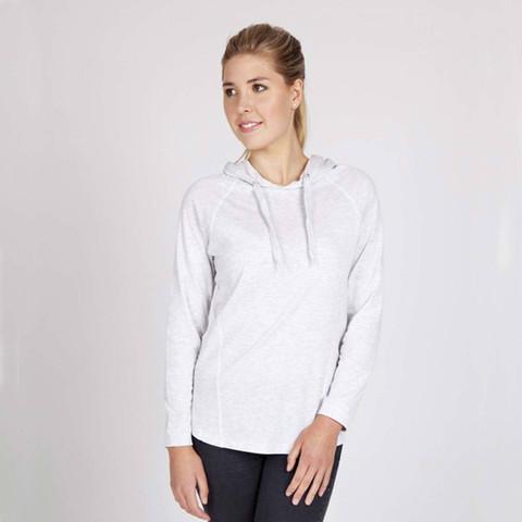 GAMER | Ladies Long Sleeve Hooded Tshirt