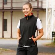 Wholesale Ladies Contrast Soft Shell Vest Online