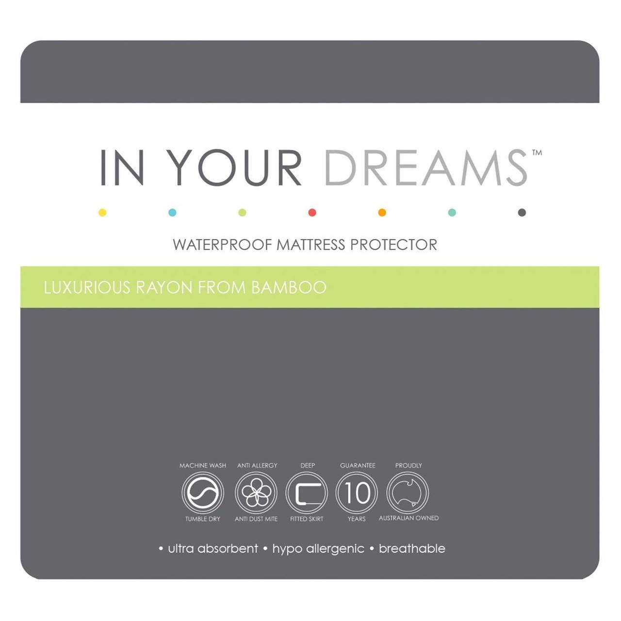 Buy In Your Dreams Bamboo Waterproof Mattress Protector Online