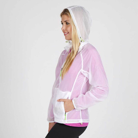 Ladies Wholesale Nylon Lightweight Rain Jackets