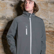 Bulk Discount Wholesale Mens Plain Softshell Jackets Online