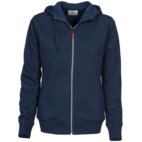 Wholesale Ladies Contrast Plain Jacket - Navy