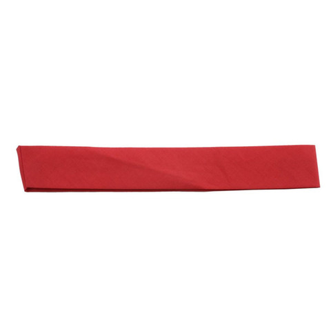 Plain Cotton Hat Bands - Red