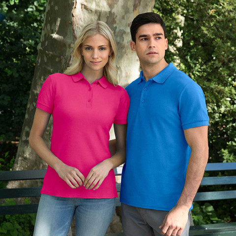 Wholesale Gildan Premium Cotton Ladies Polo Shirts