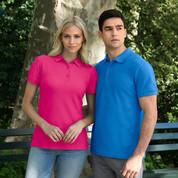 Wholesale Gildan Premium Cotton Ladies Polo Shirts