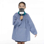 Buy Gingham Art Smock with Pocket