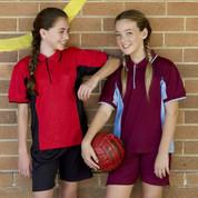 Wholesale Kids Side Panel Sports Polo Shirt