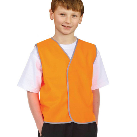 Wholesale Kids Fluoro Work Safety Vests