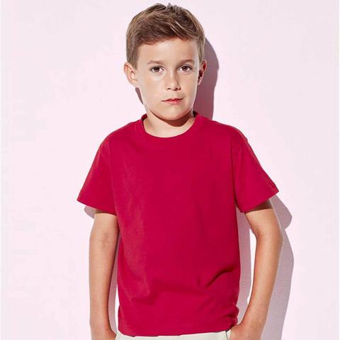 Wholesale Kids Organic Crew Neck T-Shirts Online