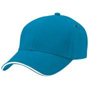 THEO | Sandwich Peak Baseball Cap | Aqua.White