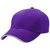 THEO | Sandwich Peak Baseball Cap | Purple.White