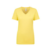 Online Womens V Neck Tshirt | Banana Cream