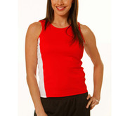 SALE on MEDAL Women contrast sports singlet