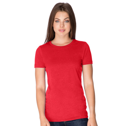 HARRIS | Womens CVC Cotton/Poly Crew Tshirt