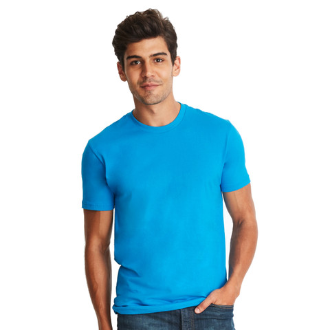 Wholesale Mens CVC Cotton/Poly Crew Tshirt