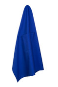 Plain Long Waist Pocket Apron Royal