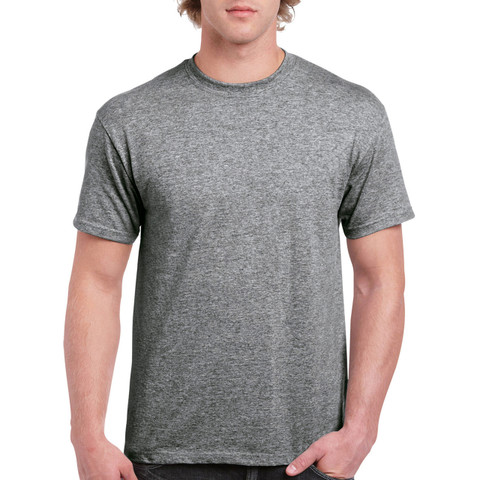 Wholesale Plain Jersey Knit Tshirts | Graphite Heather
