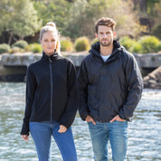 Unisex Sporty 3 in 1 Wind & Waterproof Jacket