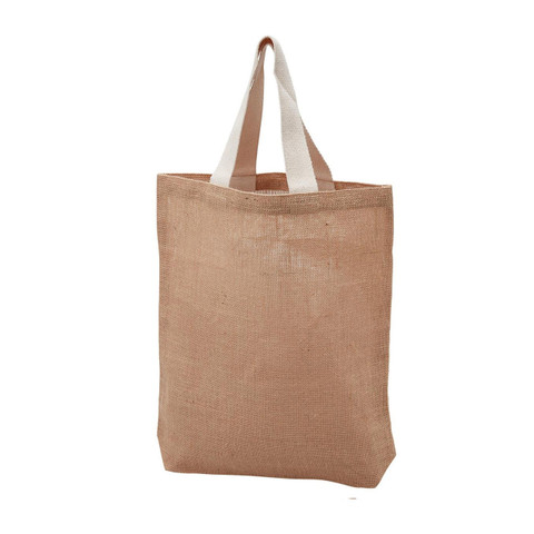 100% Natural Jute Tote Shopper Bag