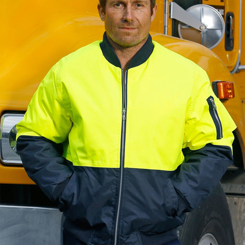 Wholesale Hi-Vis Two Tone Flying Jacket